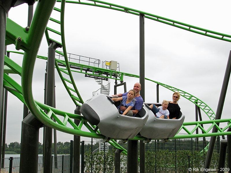 Tube Coaster, Billy Bird Park, Holland