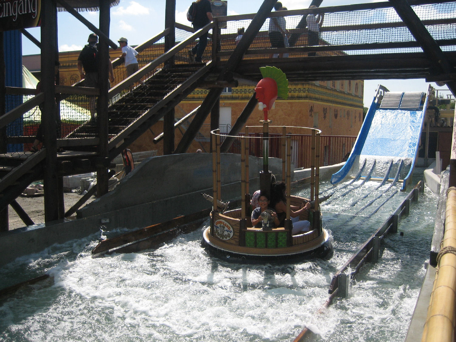 Interactive Raft Ride, Voodoo, Connyland Park, Switzerland