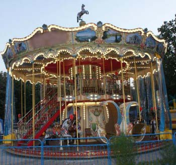 Bertazzon Double Carousel For Sale