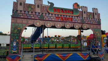 Dragon Wagon Roller Coaster For Sale