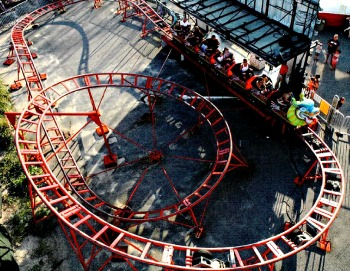 Orient Express Roller Coaster For Sale