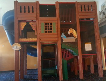 Soft Play, 3 levels, interactive play and slide