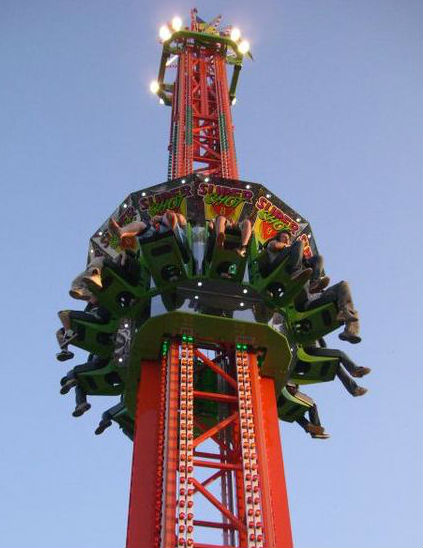 ARM Super Shot Spectacular Drop Tower For Sale