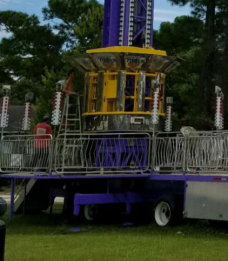 ARM Super Shot Tower Thrill Ride For Sale
