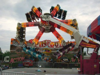 Tivoli Spin Out Amusement Ride For Sale