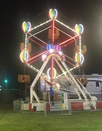 Zamperla Balloon Fiesta Ferris Wheel For Sale