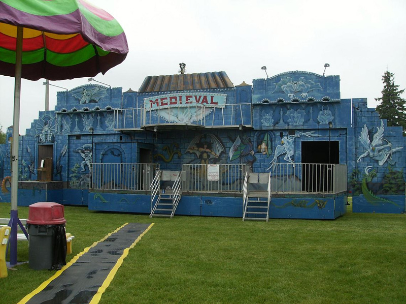 Funni Frita dark ride fun house used ride