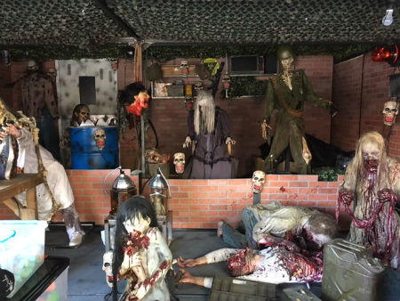 Shooting Gallery Zombie Theme