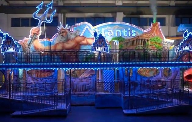 Gosetto - Atlantis 2 story Fun House, USA