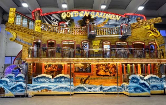 Gosetto Golden Galleon Fun House